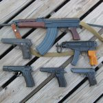 AK 47 & Skorpion & Handguns