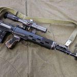 Dragunov SVD 63 sniper rifle